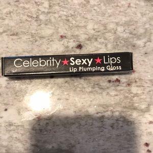 Celebrity sexy lips plumping gloss